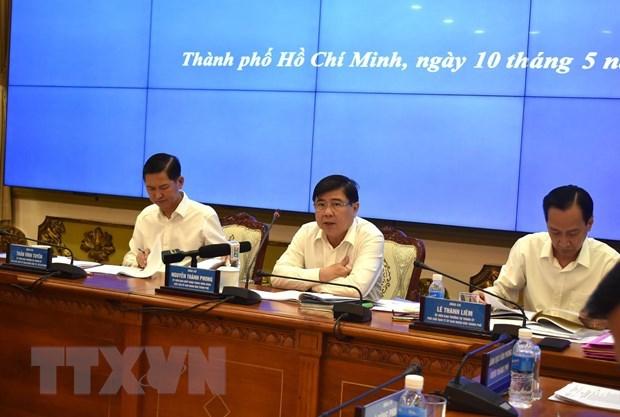 Ho Chi Minh-Ville se concentre sur la croissance economique dans les mois prochains hinh anh 1