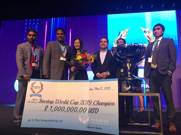 Une startup vietnamienne gagne un million de dollars a la Startup World Cup hinh anh 1