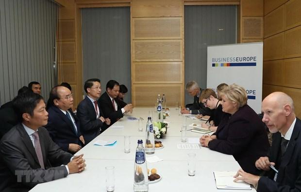 Promotion de la cooperation multiforme entre le Vietnam et la Norvege hinh anh 1