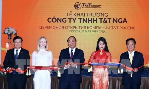 Inauguration de la societe par actions T&T en Russie hinh anh 1