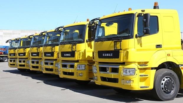 Kamaz annonce le plan de montage des camions au Vietnam hinh anh 1