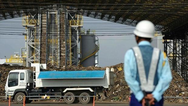 Le Japon aide l'Asie du Sud-Est a transformer des dechets en electricite hinh anh 1