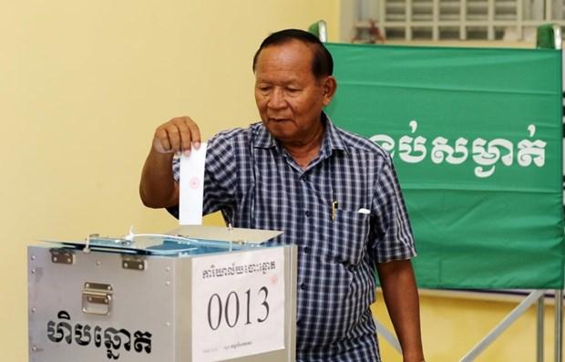 Cambodge : la NEC annonce les resultats des elections des conseils locaux hinh anh 1