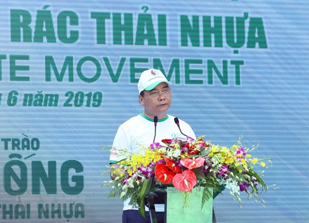 Lancement d'un mouvement national contre les dechets plastiques hinh anh 1