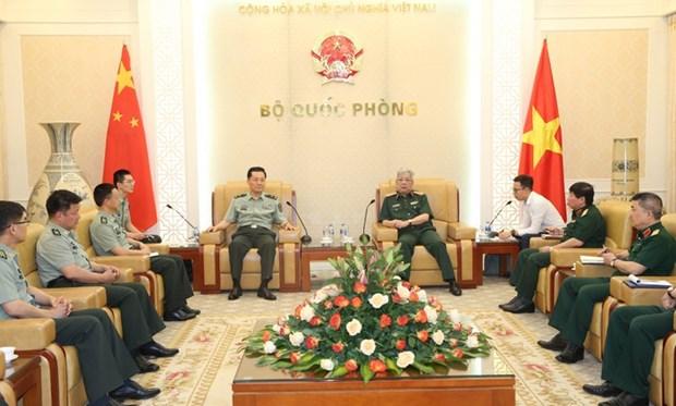 Recherche scientifique : les armees vietnamiennes et chinoises renforcent leur cooperation hinh anh 1