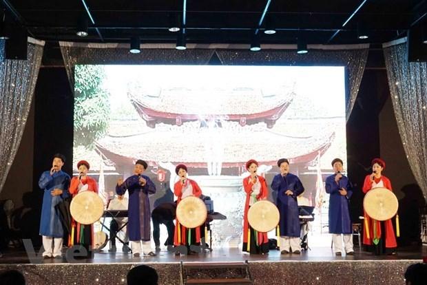 Preservation et valorisation des chants populaires Quan ho en Republique tcheque hinh anh 1
