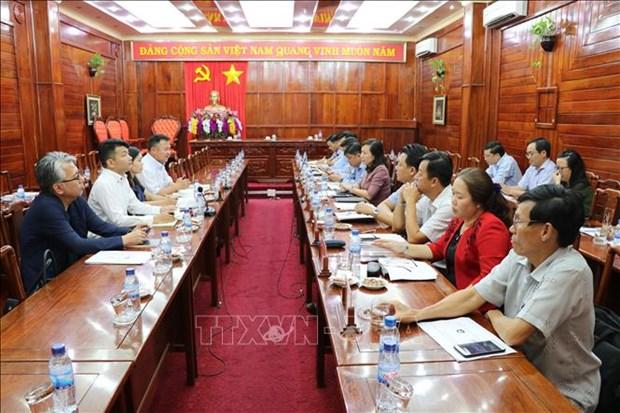 Le Japon souhaite cooperer avec les entreprises de Binh Phuoc hinh anh 1
