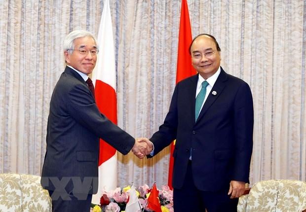 Sommet du G20 : le PM rencontre des dirigeants de certains groupes japonais hinh anh 3