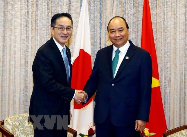 Sommet du G20 : le PM rencontre des dirigeants de certains groupes japonais hinh anh 1