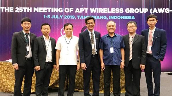 Le Vietnam assume la presidence de la 25e reunion du Groupe sans fil de l'APT hinh anh 1