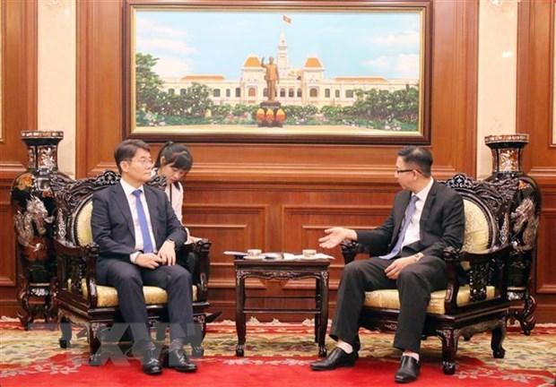 HCM-Ville souhaite renforcer la cooperation multiforme avec la Republique de Coree hinh anh 1