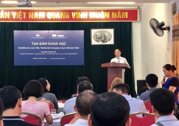 Le Vietnam et Singapour partagent leurs experiences dans la museologie hinh anh 1
