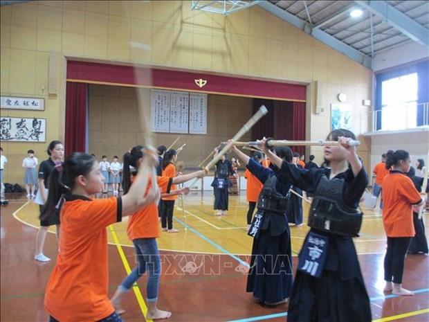 Souvenirs inoubliables de jeunes vietnamiens au Japon grace au groupe Kyocera hinh anh 1