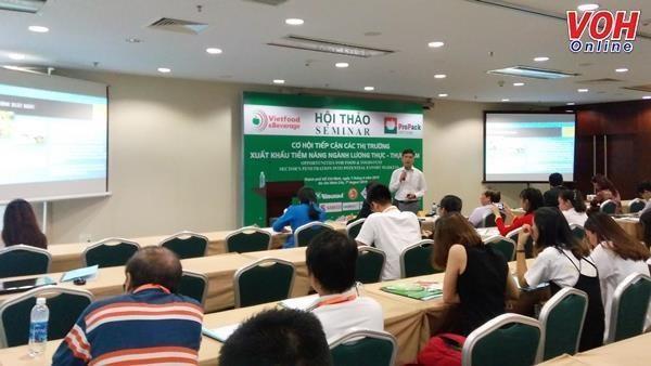 Les entreprises cherchent des moyens pour stimuler les exportations alimentaires hinh anh 1