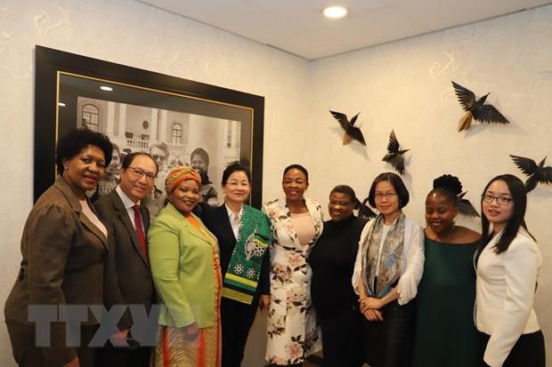 Vietnam et Afrique du Sud renforcent leur cooperation pour le developpement des femmes hinh anh 1