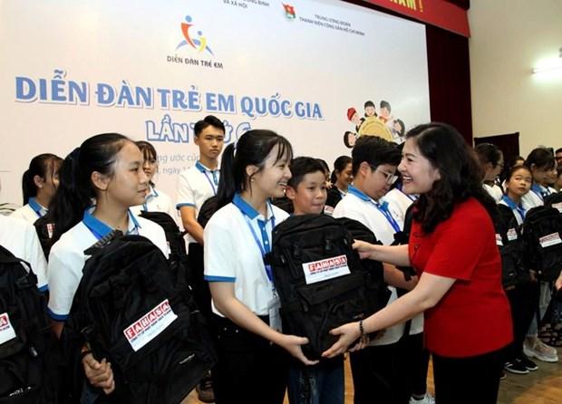 Ouverture du Forum national des enfants 2019 hinh anh 1