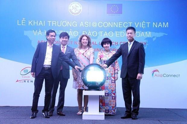 Lancement du projet Asi@Connect au Vietnam hinh anh 1