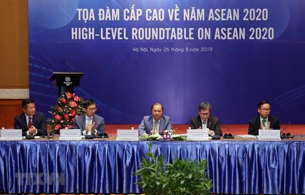 Table ronde sur la presidence de l'ASEAN du Vietnam en 2020 hinh anh 1