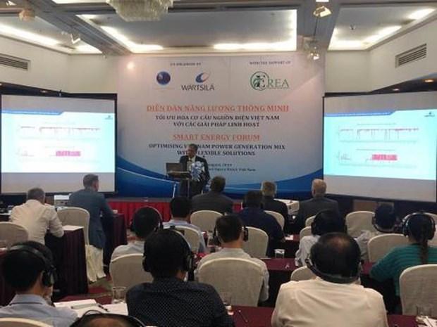 Le Forum sur l'energie intelligente au Vietnam hinh anh 1