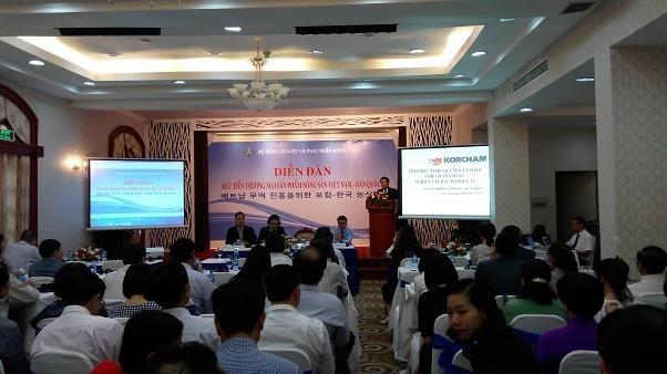 Renforcement des exportations de produits agricoles vers la Republique de Coree hinh anh 1