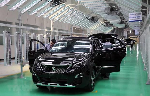 Automobile : baisse des ventes de voitures de la VAMA en aout hinh anh 1