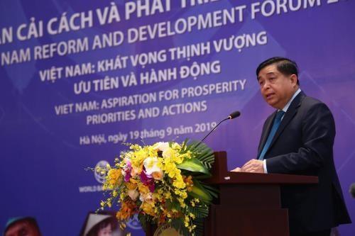 Ouverture du forum de reforme et de developpement du Vietnam 2019 hinh anh 1