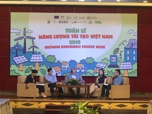 Colloque sur la finance verte pour les energies renouvelables dans l'industrie hinh anh 1