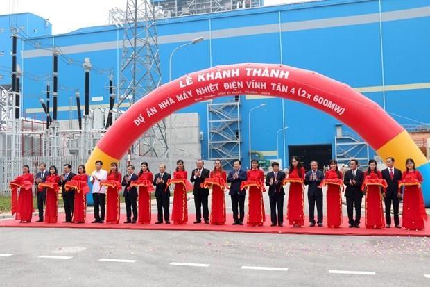 La centrale thermique Vinh Tan 4 inauguree a Binh Thuan hinh anh 1