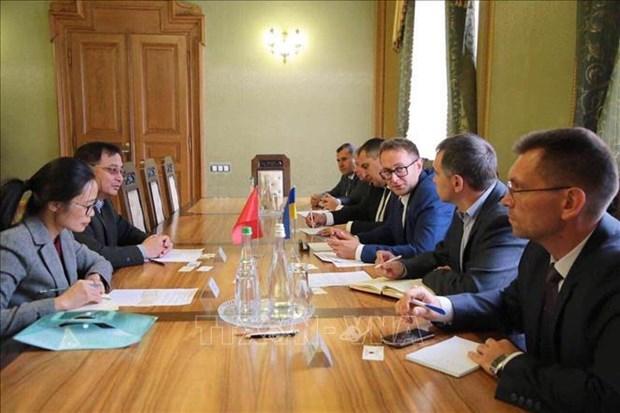 L'oblast ukrainien de Lviv est pret a favoriser les entreprises vietnamiennes hinh anh 1