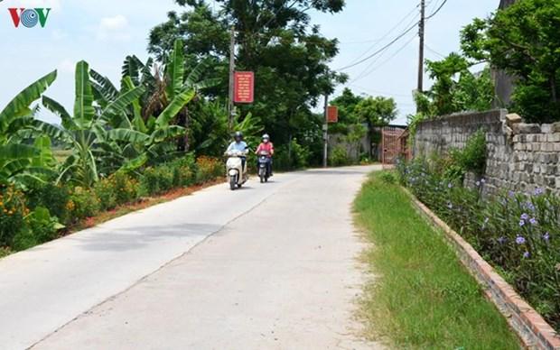 Le grand succes de Quang Ninh dans le programme de Nouvelle Ruralite hinh anh 1