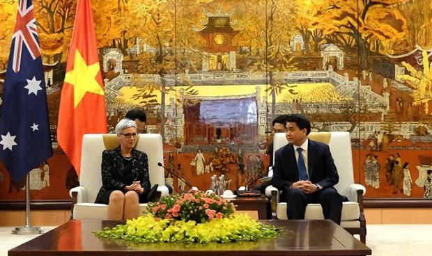 Renforcement de la cooperation entre Hanoi et l'Etat australien de Victoria hinh anh 1