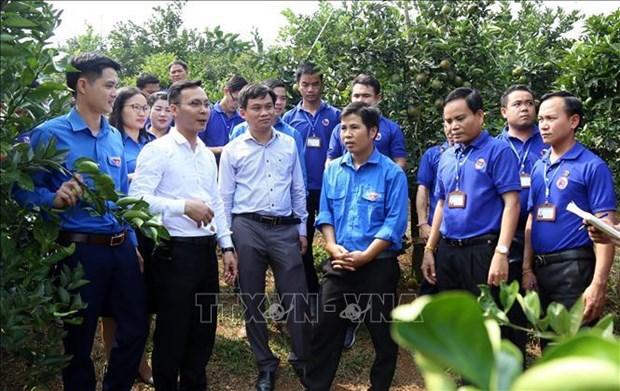 Vietnam-Laos : echanges renforces entre les jeunes hinh anh 1