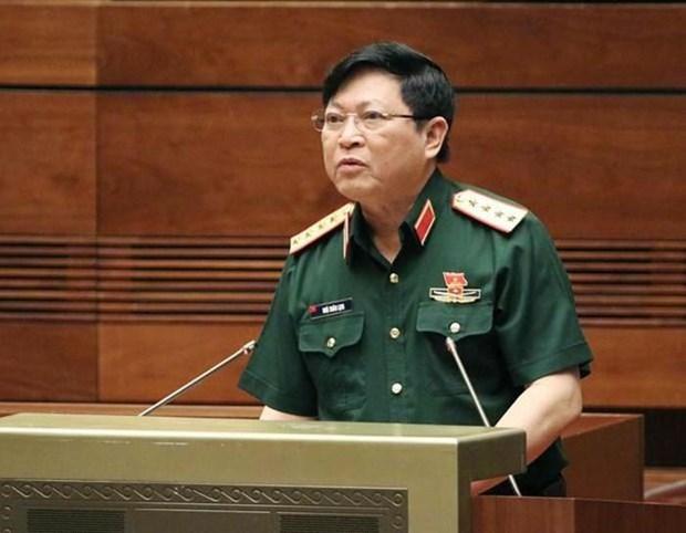Une delegation militaire vietnamienne de haut rang en visite de travail dans l'Union europeenne hinh anh 1