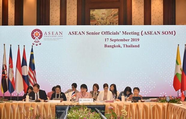 La Thailande se prepare au 35eme Sommet de l'ASEAN prevu en novembre hinh anh 1