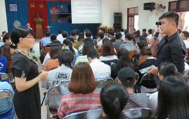L'ONU forme des etudiants de Phu Yen a la resilience au changement climatique hinh anh 1