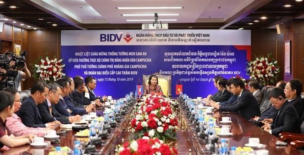 Activites de la vice-Premiere ministre cambodgienne Men Sam An au Vietnam hinh anh 1