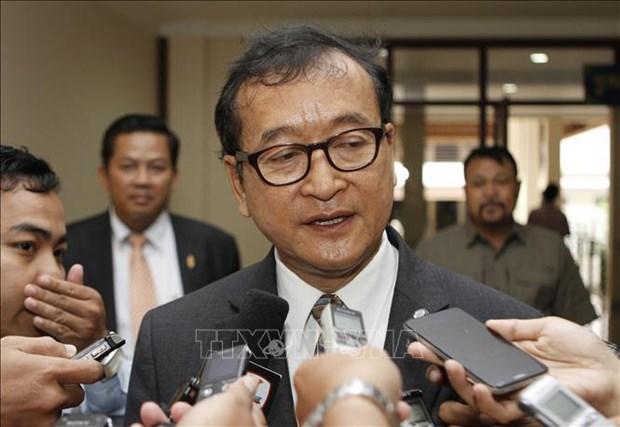 Le tribunal de Phnom Penh annonce une peine de prison contre le chef en exil du CNRP hinh anh 1