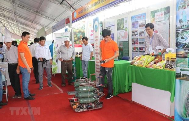Ouverture de la foire Techmart et de la Journee pour les start-up innovantes du delta du Mekong hinh anh 1