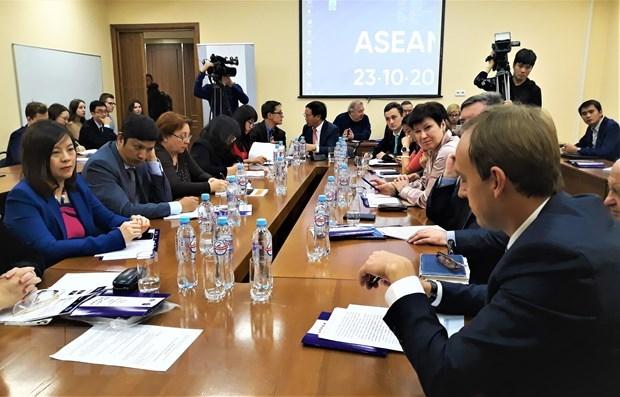 Le Vietnam soutient le renforcement de la cooperation Russie-ASEAN hinh anh 1