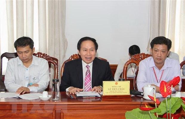 La JETRO etudie l'environnement d'investissement a Hau Giang hinh anh 1