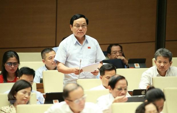 L'AN continue de discuter du travail judiciaire, du projet de loi sur les bibliotheques hinh anh 1