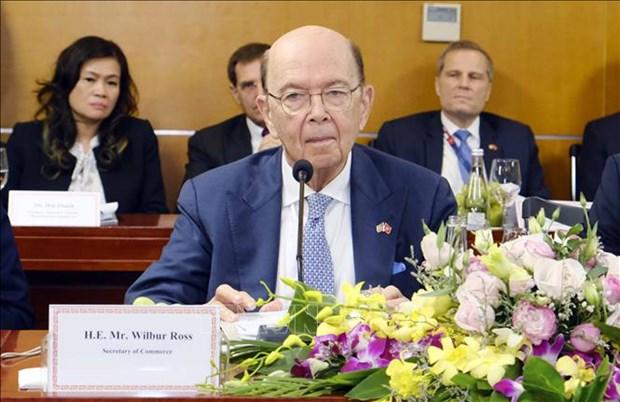 Celebration du 25e anniversaire de la fondation de la Chambre americaine de commerce a Hanoi hinh anh 1