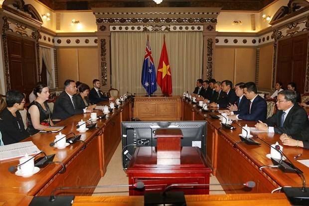 Renforcement de la cooperation entre Ho Chi Minh-Ville et la Nouvelles-Galles du Sud hinh anh 1