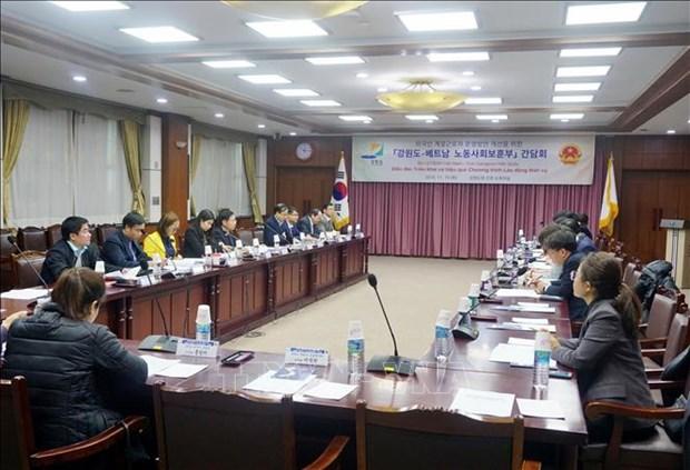 Promouvoir l'envoi de travailleurs temporaires du Vietnam en Republique de Coree hinh anh 1
