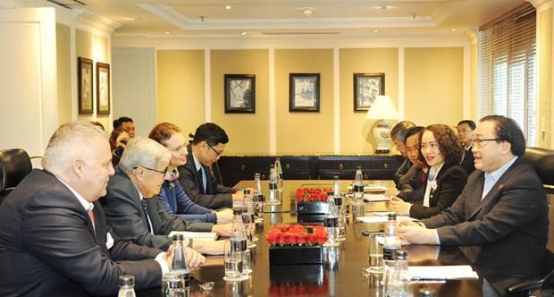 Renforcement de la cooperation entre le Parti communiste du Vietnam et le Parti communiste francais hinh anh 1