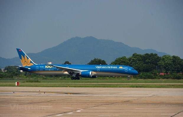 Vietnam Airlines contribue a ameliorer la position du secteur national de l'aviation hinh anh 1