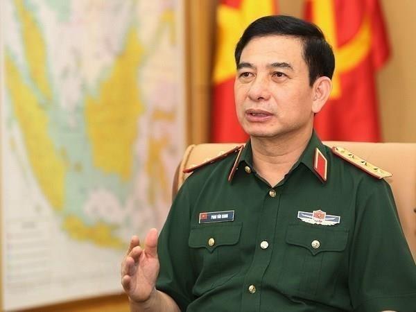 Une delegation militaire vietnamienne de haut rang en visite en Inde hinh anh 1