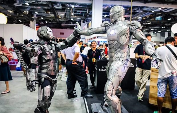 Le Comic Con debarquera les 7 et 8 decembre a Singapour hinh anh 1
