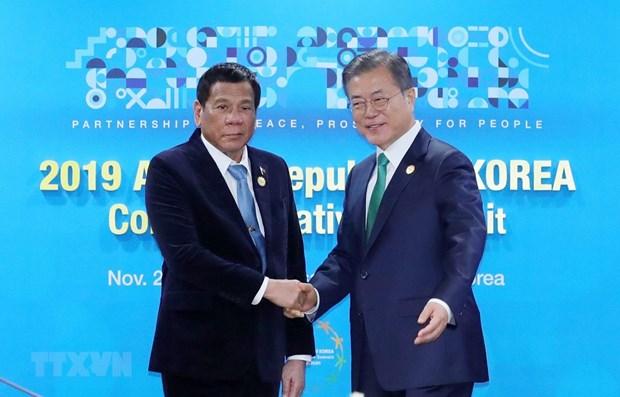 Defense: la Republique de Coree renforce ses liens avec les Philippines et Singapour hinh anh 1