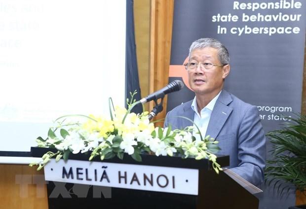 Colloque sur le code de conduite et la responsabilite des pays dans le cyberespace hinh anh 1